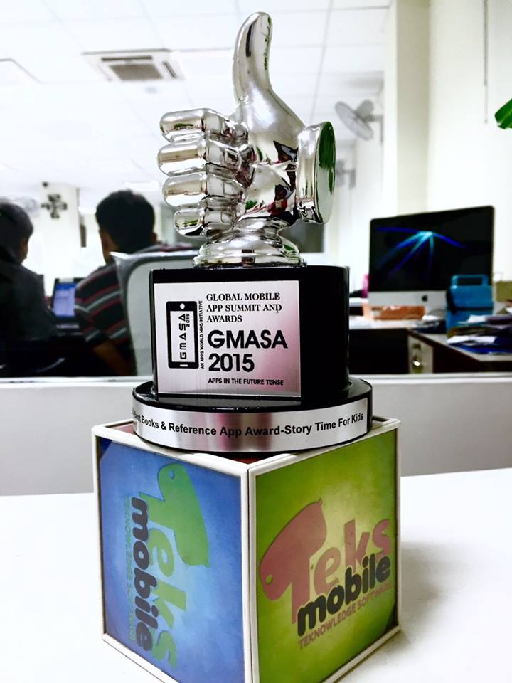 Story Time bagged an award at GMASA 2015